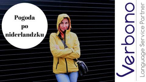 Verbono nauka niderlandzkich słówek pogoda
