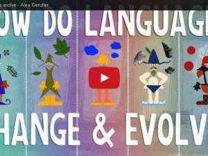 Krótko o ewolucji języków