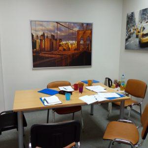 Komfortowe sale kursów jezykowych