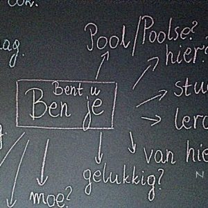 niderlandzkie pytania Verbono