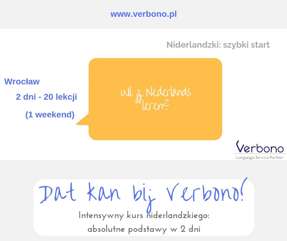 Język niderlandzki kurs Wrocław