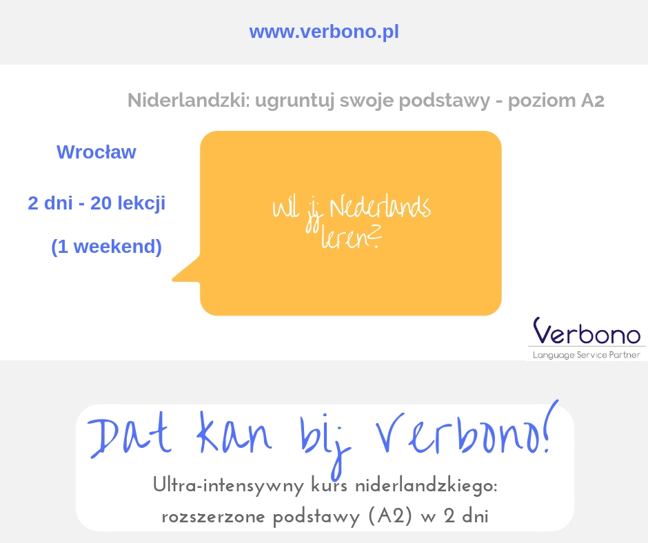 kurs A2 niderlandzki